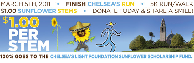 Chelsea's Run - March 5th, 2011 - Donate Today!